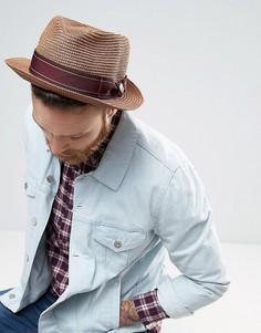 Шляпа-федора Goorin Diango Herrera - Коричневый