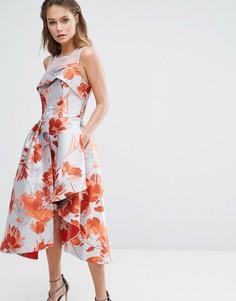 Жаккардовое платье Coast Aurora - Оранжевый