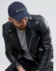 Темно-синяя футболка Jack Wills Enfield - Темно-синий
