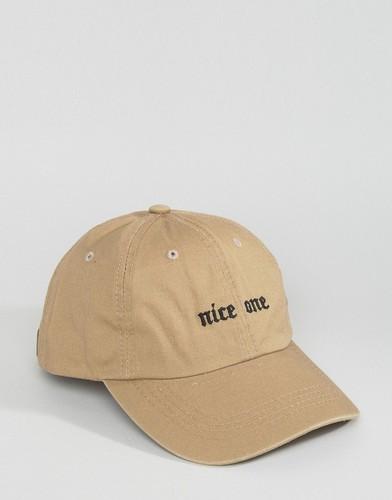 Бейсболка с вышивкой Nice One Cheats and Thieves - Черный