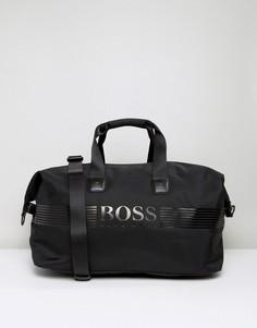 Черная сумка с пиксельной отделкой BOSS Green by Hugo Boss - Черный