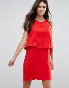 Красное платье без рукавов Y.A.S - Красный