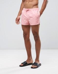 Короткие розовые шорты для плавания ASOS - Розовый