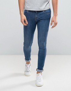 Голубые джинсы Dr Denim Dixy - Синий