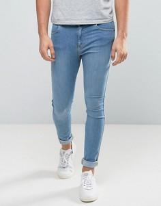 Голубые джинсы Dr Denim Lexy - Синий
