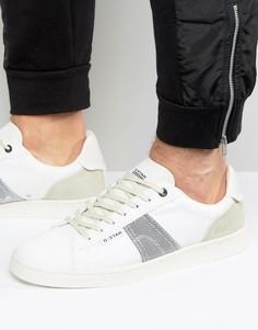 Белые кроссовки G-Star Barton - Белый