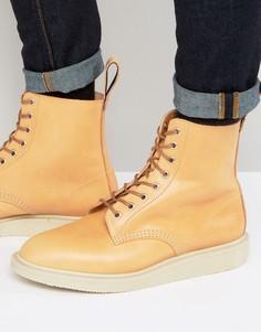 Ботинки с 8 парами люверсов Dr Martens Made In England Whiton - Рыжий