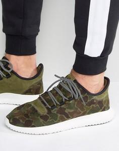 Зеленые кроссовки adidas Originals Tubular Shadow BB8818 - Зеленый