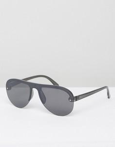 Черные очки-авиаторы Cheap Monday - Черный