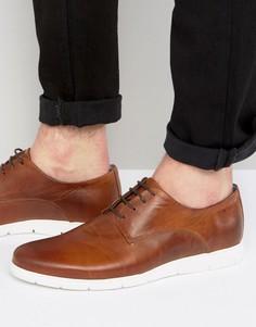 Кожаные туфли Dune Barny - Коричневый