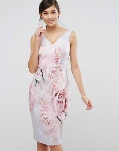Цельнокройное платье Coast Eyzizi Dumfries - Розовый
