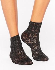 Короткие черные носки Falke Sri Lanka - Черный