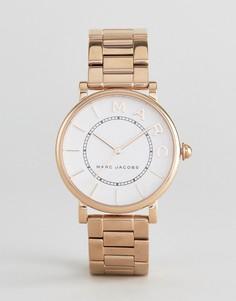 Розово-золотистые часы Marc Jacobs MJ3523 Roxy - Золотой