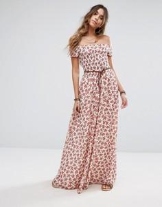 Платье макси Tularosa Hernderson - Мульти