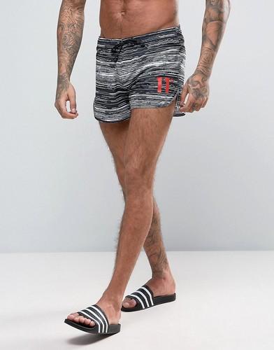 Ультракороткие шорты для плавания 11 Degrees Runner - Черный