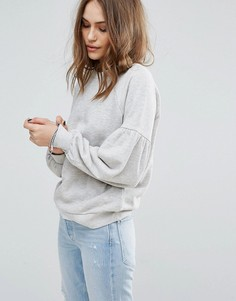Свитшот с широкими рукавами Vero Moda - Серый
