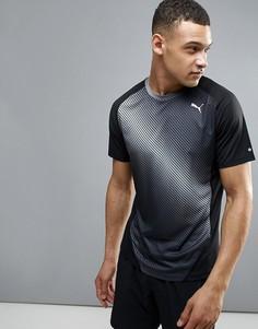 Черная футболка с графическим принтом Puma Running 51435201 - Черный