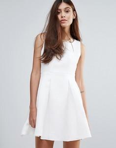 Платье с ожерельем Zibi London - Белый