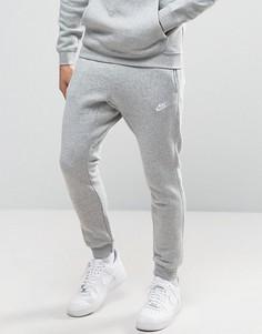 Серые джоггеры с манжетами Nike 804408-063 - Серый