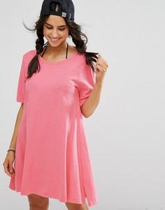 Розовое пляжное платье Billabong - Розовый