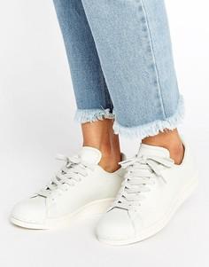 Белые кроссовки в стиле 80-х adidas Originals Clean Superstar - Белый