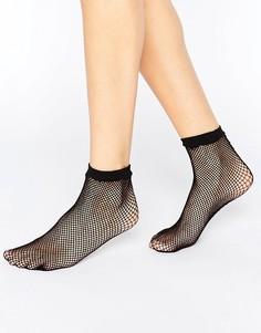 Носки в сеточку ASOS - Черный