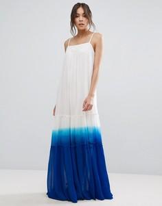Платье макси с эффектом деграде Adelyn Rae - Белый