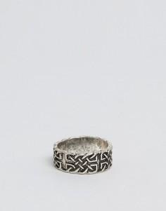 Кольцо с кельтским дизайном ASOS - Серебряный