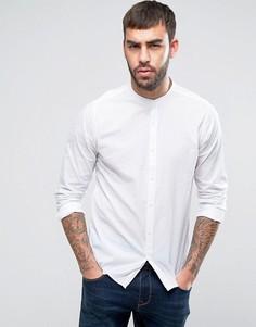 Рубашка классического кроя с воротником на пуговице Solid - Черный