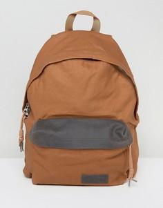 Коричневый рюкзак с подкладкой Eastpak PakR - Коричневый