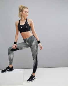 Леггинсы Nike Running Power Racer Pr - Черный