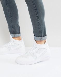 Белые кроссовки средней высоты Nike Ultraforce 1 864014-100 - Белый