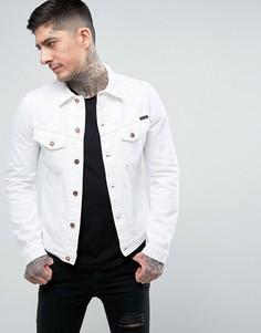 Джинсовая куртка Nudie Jeans Co Billy - Белый