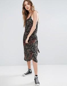 Платье с принтом Blend She - Мульти