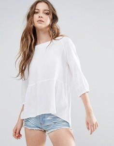 Блузка с рукавами 3/4 Blend She Julie - Белый