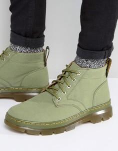 Парусиновые ботинки Dr Martens Bonny - Зеленый