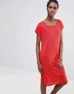 Трикотажное платье Selected Ivy - Красный