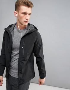 Спортивная куртка с капюшоном Blend Active - Черный