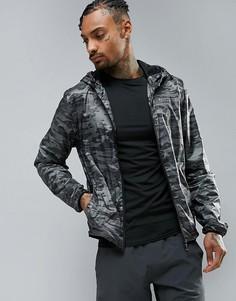 Спортивная куртка на молнии Blend Active - Черный