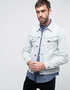 Выбеленная джинсовая куртка Lee Rider - Синий