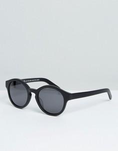 Круглые солнцезащитные очки Raen - Черный