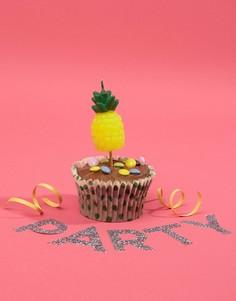 Свечи на день рождения в форме ананаса Sunnylife - Мульти