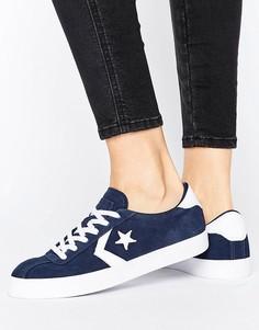 Темно-синие замшевые кроссовки Converse Breakpoint - Темно-синий