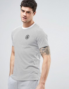 Белая футболка в горошек Converse 10003654-A01 - Белый