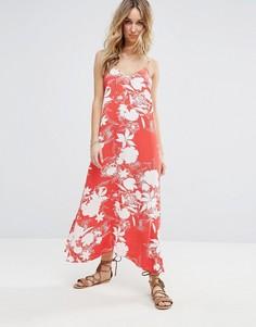 Платье макси с цветочным принтом Vila - Мульти
