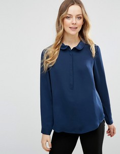 Рубашка с воротником Lavand - Темно-синий