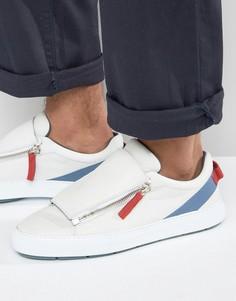 Кроссовки на молнии Clarks X Christopher Raeburn - Белый