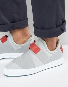 Кроссовки на резинках Clarks X Christopher Raeburn - Серый