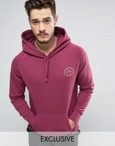 Худи ягодного цвета с логотипом Jack Wills Batsford - Розовый