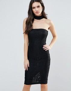 Платье с чокером Ax Paris - Черный